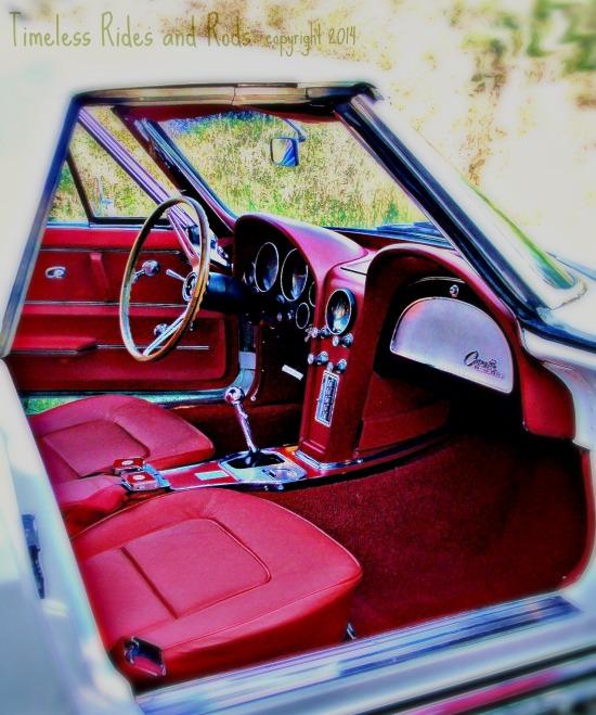 interior 1965 Corvette